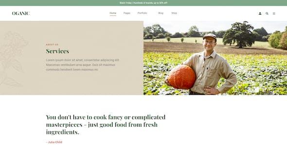 Oganic - Organic Food Bootstrap HTML Template
