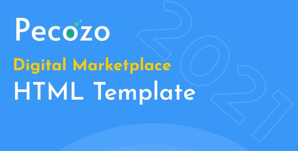 Pecozo - Digital Marketplace HTML Template