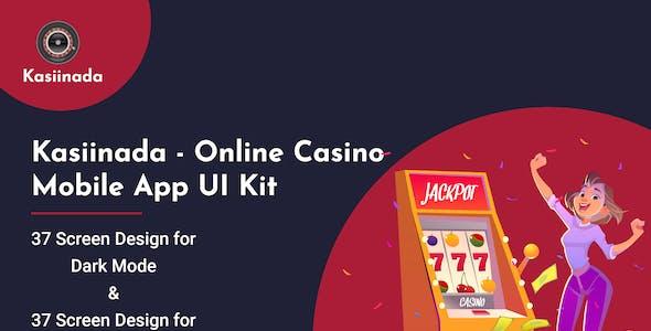 Kasiinada- Online Casino Mobile App UI Kit