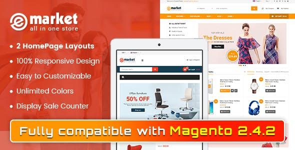 eMarket - SuperShop Responsive Magento 2 Theme