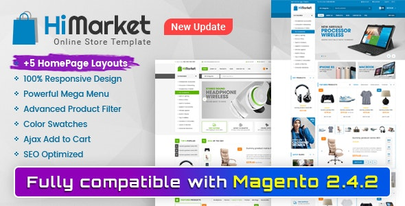 Himarket - Responsive Magento 2 Digital Store Theme - Shopping Magento