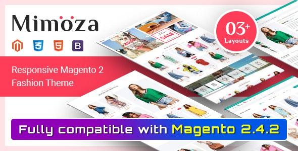 Mimoza - Fashion Responsive Magento 2 Theme - Fashion Magento