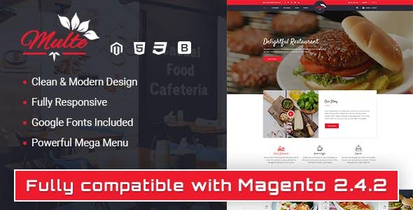 Multe - Responsive Magento 2 Restaurant Theme