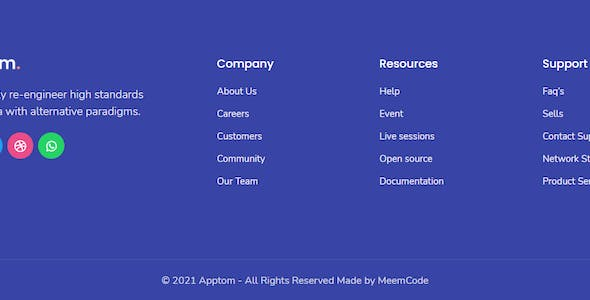Apptom - App & Software Showcase Elementor Template Kit