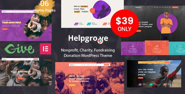 Helpgrove - Nonprofit Charity - Charity Nonprofit