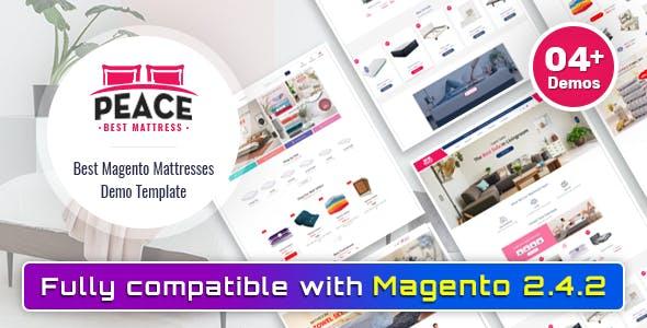 Peace - Bedroom Furniture Magento 2 Theme