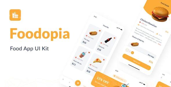 Foodopia - F&B App UI Kit
