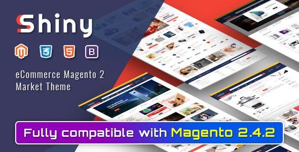 Shiny - Responsive Magento 2 Marketplace Theme