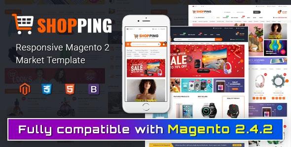 Shopping - Multipurporse eCommerce Magento 2 Theme - Shopping Magento