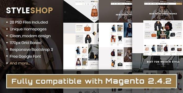 Styleshop - Responsive Multipurpose Magento 2.x Theme