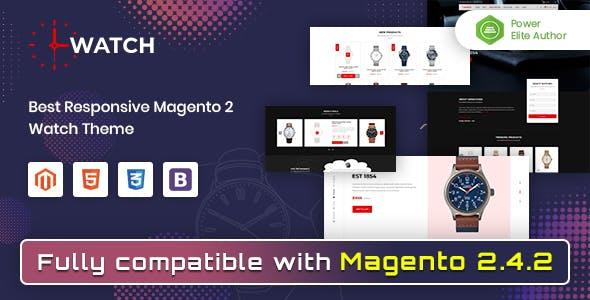 Watch - Multipurpose Responsive Magento 2 Theme