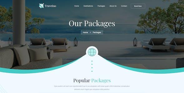 TRAVEINO - Travel PSD
