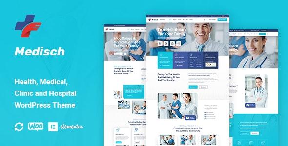Medisch - Health & Medical WordPress Theme - Health & Beauty Retail