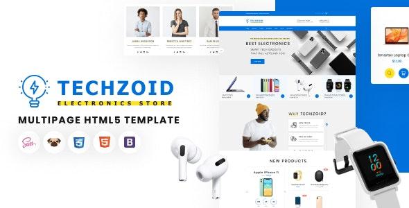 Techzoid - Electronics Store HTML5 Template - Electronics Technology