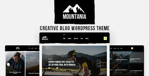 Mountania - Creative Blog WordPress Theme
