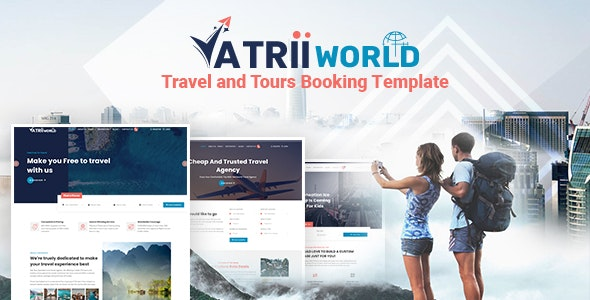 Yatriiworld - Travel and Tours Booking Template - Travel Retail