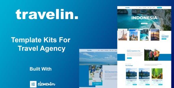 Travelin - Travel Elementor Template Kit