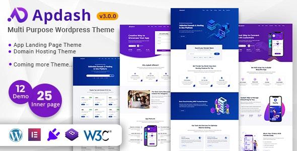 Apdash – Multi-Purpose WordPress Theme - Technology WordPress