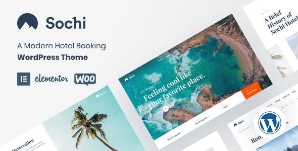 Sochi - Hotel Booking WordPress Theme - Travel Retail