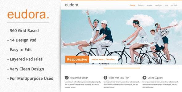 Eudora : Corporate / Business Theme - Corporate Photoshop