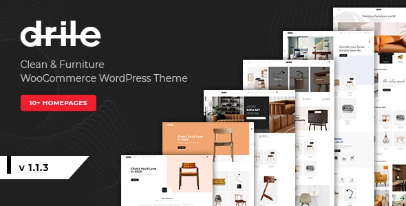 Drile - Furniture WooCommerce WordPress Theme - WooCommerce eCommerce