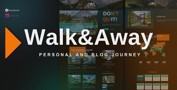 Walk&Away - Travel Blog & Tours Elementor Template Kit
