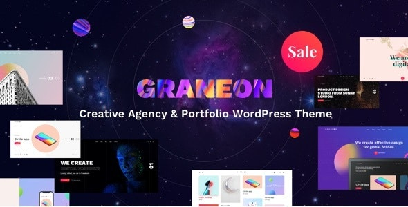 Graneon - Creative Artist Portfolio WordPress theme - Creative WordPress