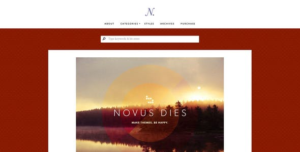 Notably - A WordPress Blogging Theme