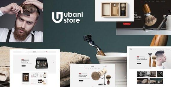 Ubani - Barber Shop Bootstrap 5 Template