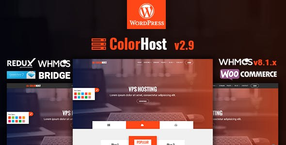 ColorHost | Responsive Web Hosting and WHMCS WordPress Theme