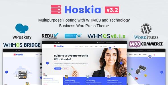 Hoskia | Multipurpose Hosting with WHMCS Theme