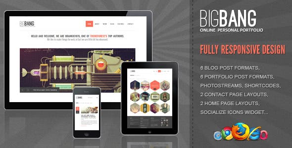 Css3 Templates from ThemeForest