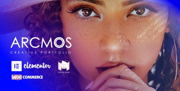 Arcmos - Creative Portfolio Theme for WordPress - Portfolio Creative