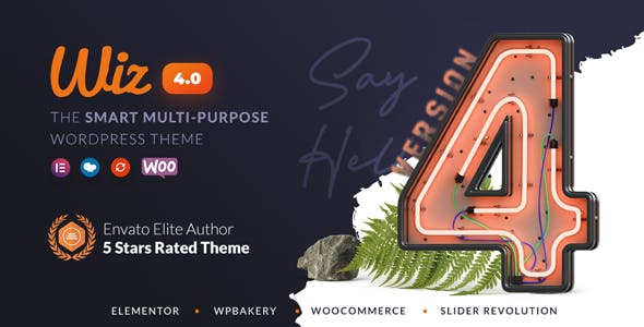 Wiz - Elementor MultiPurpose WordPress Theme