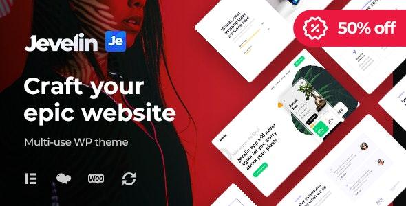Jevelin | Multi-Purpose Responsive WordPress AMP Theme - Creative WordPress