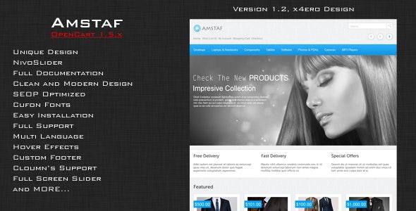 Amstaf - Premium OpenCart Theme - OpenCart eCommerce