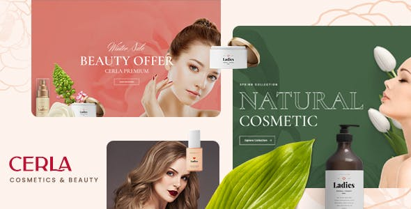 Cerla – Cosmetics WooCommerce WordPress Theme