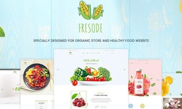 Fresode - Organic Store Shopify Theme - Site Templates