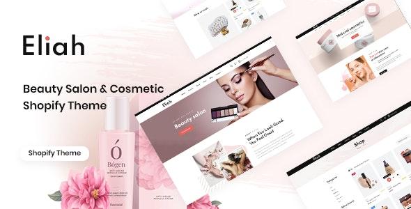 Eliah - Beauty Salon & Cosmetic Shopify Theme - Health & Beauty Shopify
