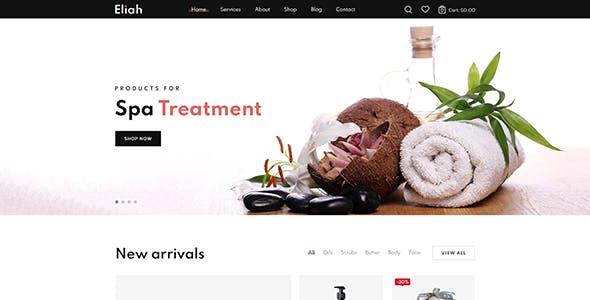 Eliah - Beauty Salon & Cosmetic Shopify Theme