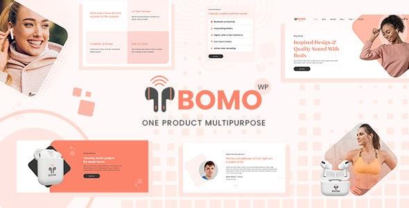 Bomo - One Product WordPress Theme - WooCommerce eCommerce