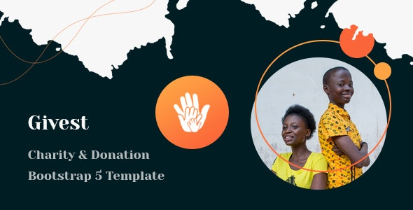 Givest Charity & Fundraising HTML Template