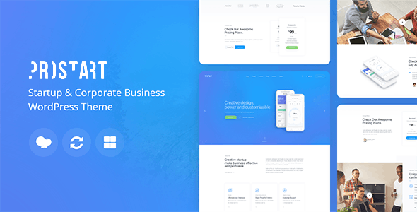 ProStart | Startup & Business WordPress Theme - Business Corporate