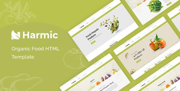 Harmic Organic Food HTML Template