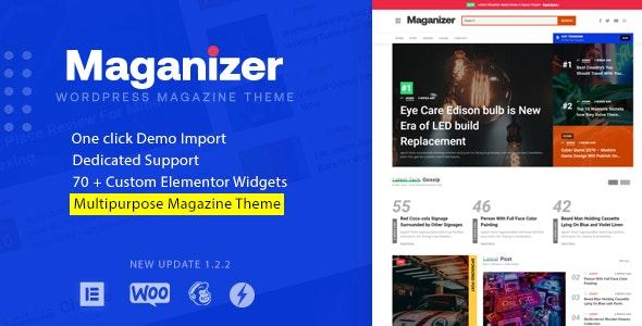 Maganizer - Modern Magazine WordPress Theme by Wpsmart   ThemeForest