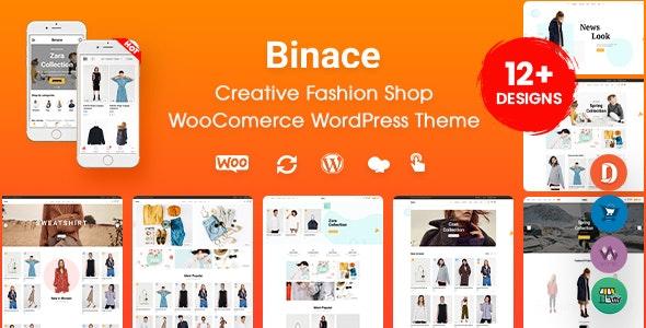 Binace - Fashion Shop WooCommerce WordPress Theme (Mobile Layout Ready) - WooCommerce eCommerce