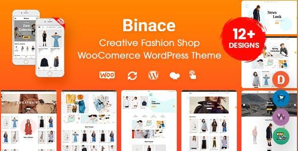 Binace - Fashion Shop WooCommerce WordPress Theme (Mobile Layout Ready)