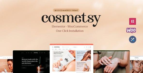 Cosmetsy - Beauty Cosmetics Shop Theme
