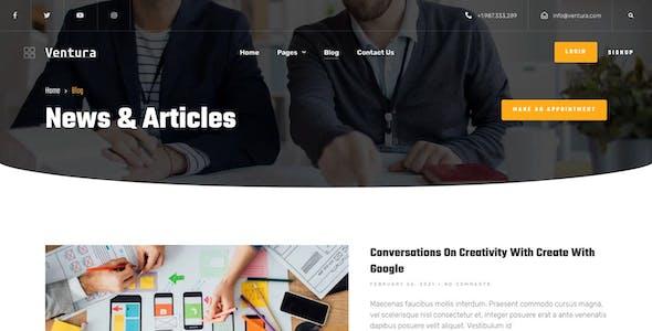 Ventura - Creative Agency Elementor Template Kit