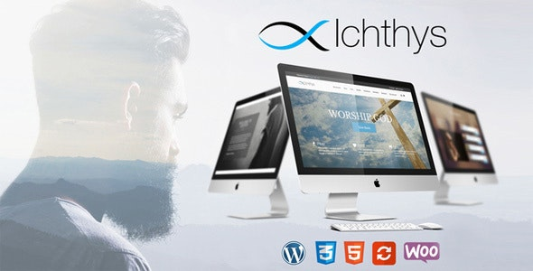 Ichthys - Church WordPress Theme - Churches Nonprofit